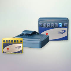 Pager with blue light for Carbon Monoxide detector