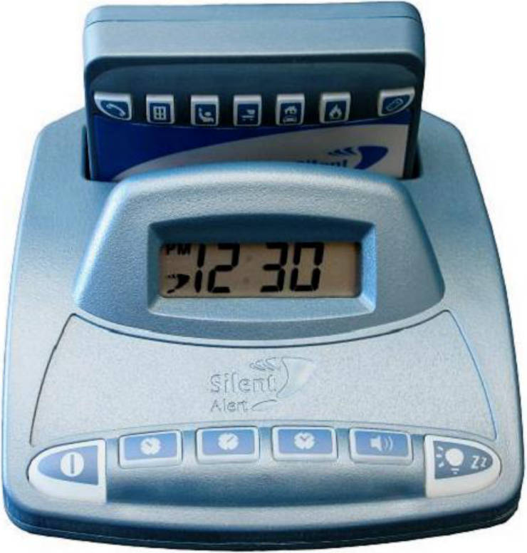 CH3A-2205-IN Alarm Clock Charger with pager unit