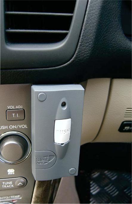 MM4A-2212-EU Mini Monitor link to car alarm