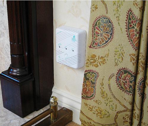 Discreet design of the Carbon Monoxide Detector