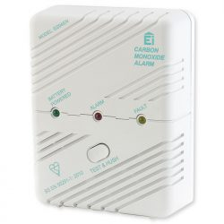 wireless battery-operated Carbon Monoxide Alarm