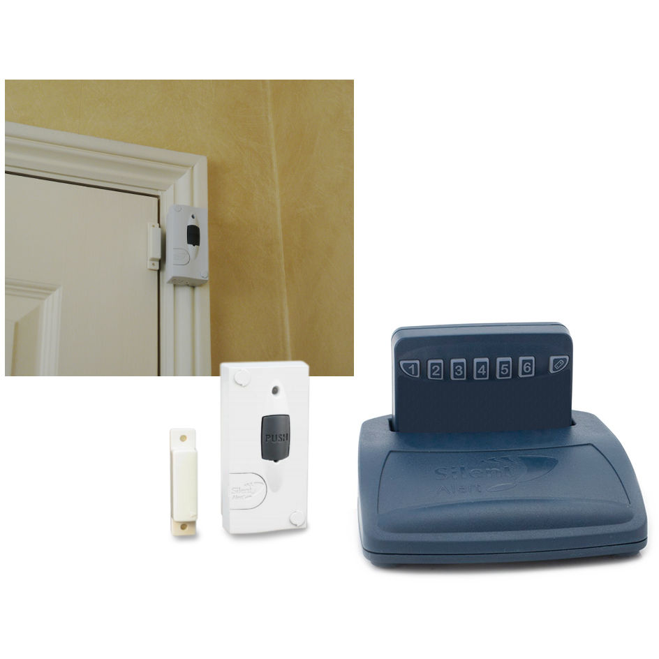 Care Call Pack 6 comprises a Pager, Trickle Charger and Magnetic door monitor