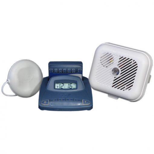 Silent Alert SA3000 Hard of Hearing Smoke Alarm Pack