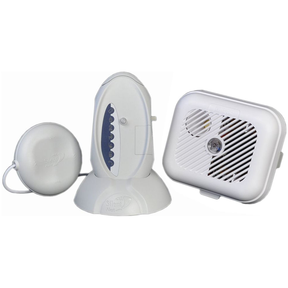 Silent Alert SA3000 Hard of Hearing Smoke Alarm Pack with SignWave