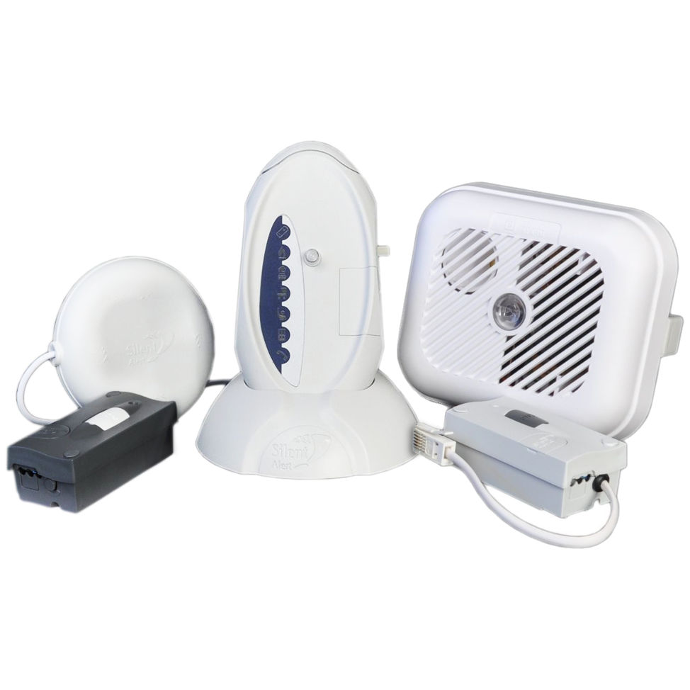 Silent Alert SA3000 Hard of Hearing Alarm Pack with a SignWave