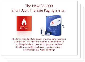 Silent Alert Fire Safe Slideshow