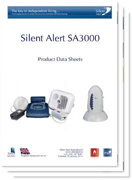 Silent Alert SA3000 System Data Sheets
