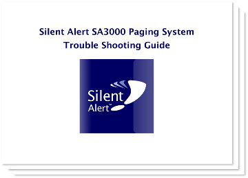 SA3000 Paging System Trouble Shooting Guide